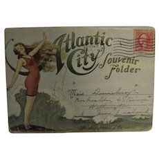 Atlantic City 'The Playground of The World' - Souvenir Postcard Folder - 1912