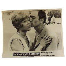Le Grand Amour - Lobby Card