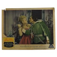 The Three Musketeers - 1948 Lobby Card