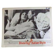 Divorce Italian Syle - Lobby Card