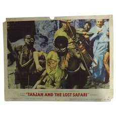 TARZAN and The Lost Safari - 3 Lobby Cards