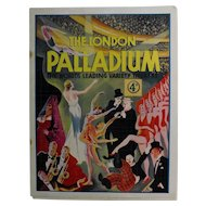 "Theatre Program ""The Palladium"" London 1933"