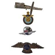 Aviators Tie Pins