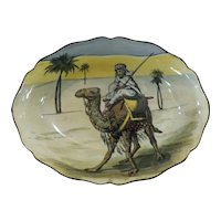 DESERT Scenes Royal Doulton Oval Bowl D3192