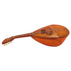 Mandolin By C. A. Kisslinger, Napoli, ITALY, 1895