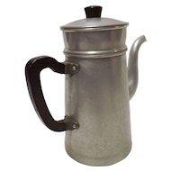 Vintage French Stove Top Coffee Percolator - Circa 1950's