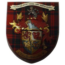 MacIntosh Clan Plaque