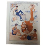 French Fashions - Sourire Magazine 1931