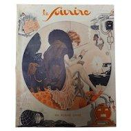 Front Page of Le Sourire Magazine  14 Janvier 1932