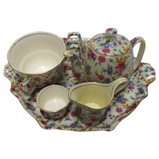 Royal Winton Breakfast Set - Old Cottage Chintz