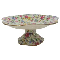 Royal Winton Tazza Comport -Old Cottage Chintz