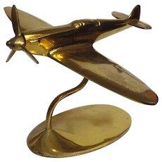 SPITFIGHTER Solid Brass Model