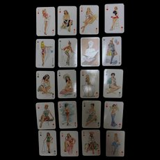 DARLING 'Risque' Playing Cards Circa 1970's