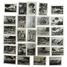 A Pack of 50 FIJIAN Tourist  Photo Cards Circa 1940