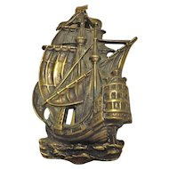 Lovely of Old 'Galleon' Door Knocker
