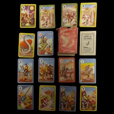 'Riders of The Range' Children's Playing Cards 1950's