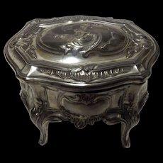 Victorian Ladies Trinket /Jewel Casket