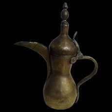 Traditional DALLAH Arabic Coffee Pot - 19th Century