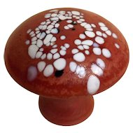 Kosta Boda Monica Backstrom Art Glass Mushroom
