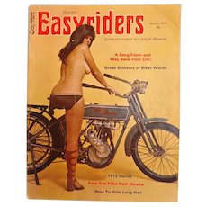 Easyriders Bikers Magazine - January 1974
