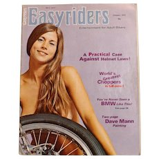 Easyriders Magazine USA October 1973