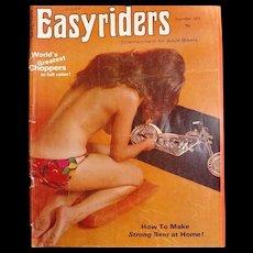 Easyriders  USA Magazine December 1973