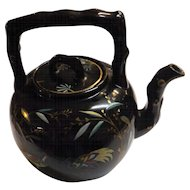Art Deco Pottery Tea Pot With Orient Influence - Circa 1920 -1930's