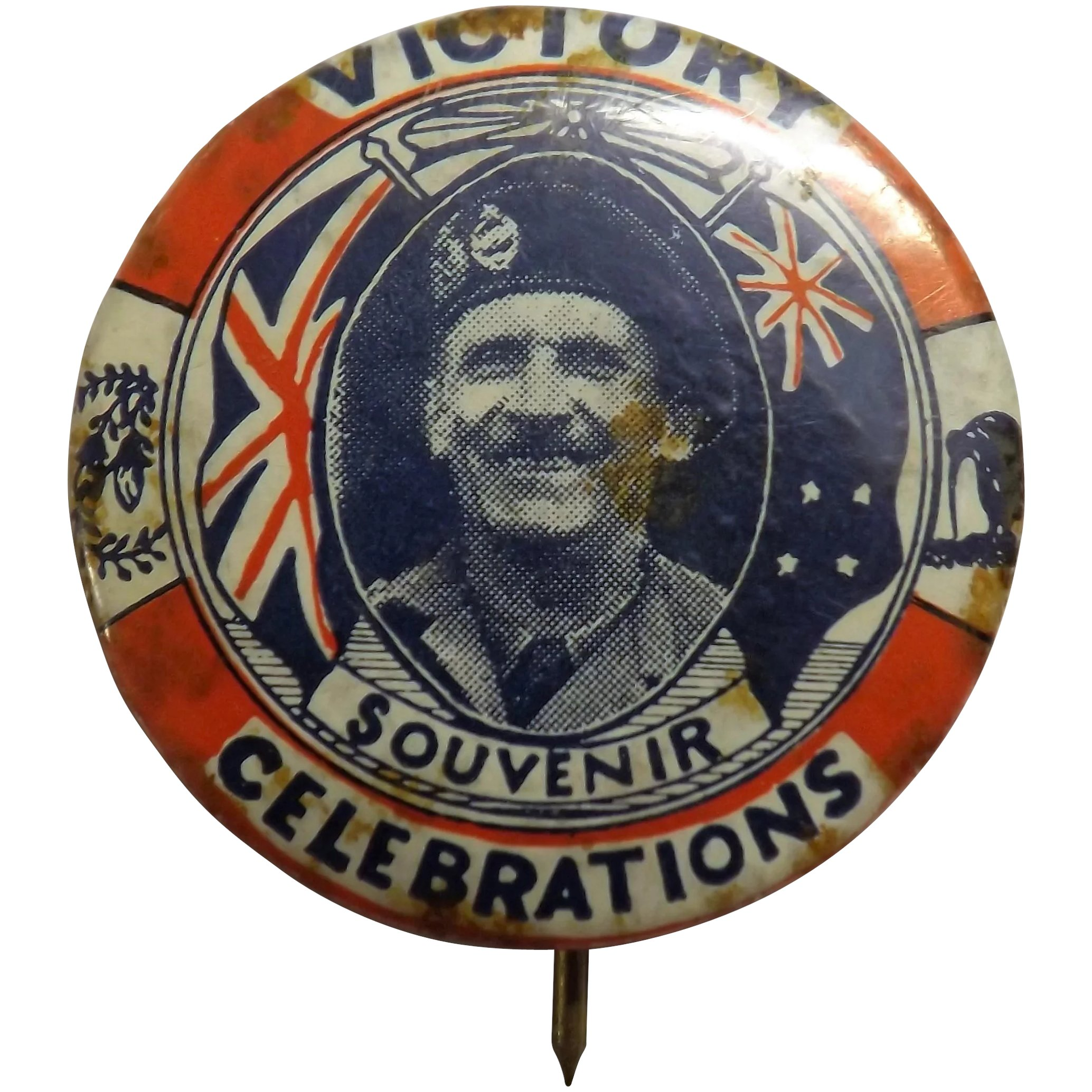 General Montgomery WWII Victory Badge