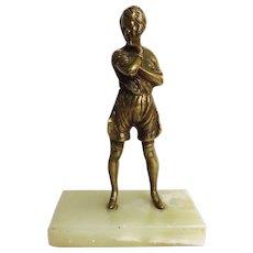 ART DECO Figural Bronze - Semi Nude Circa 1920's - 1930's