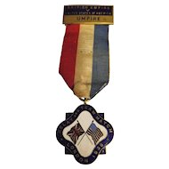 Umpires Medal British Empire v USA Relay Team Match - 1936