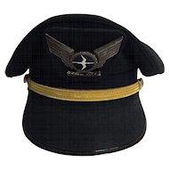 NAC  (National Airways Corporation of New Zealand)  -  Flight Officers Cap
