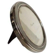 Argentine 925 Silver ART DECO Round Photo Frame