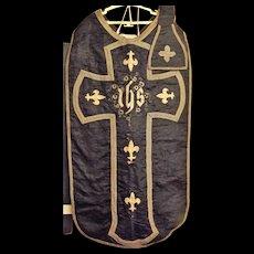 Roman Catholic Chasuble & Manipule - Peru 18th Century