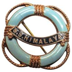S.S. Himalaya - Souvenir Ships Badge
