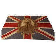 Union Jack Flag With David Lloyd George