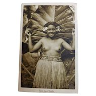 Taro Leaf Belle - Photograhic card