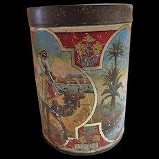Great RILEY'S Cream Toffee Tin - Circa 1910 - 1930