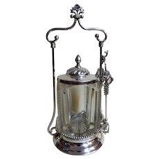 Pickle Jar - USA Late 1800's