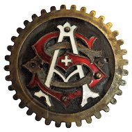 Early 1900's Swiss Automobile Club Car Badge