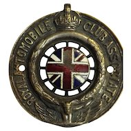 Royal Automobile Club Associate Car Badge