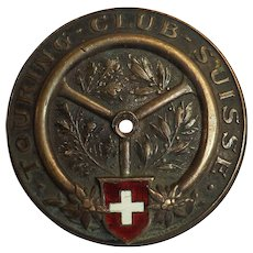 Touring Club Swisse Car Badge