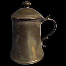Victorian Scottish Pewter Tankard - Glasgow Circa 1870-1880