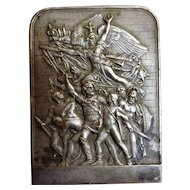 Plaque Commemorating The French Revolution - H. Dubois