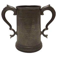 BURTON Rowing Club England 1872 Trophy Tankard - Opening Scratch Races