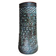Benin Tribal Warriors Bronze Arm Guard - Nigeria early to Mid 1900's