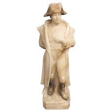 Superb Marble Figurine of Napoleon Bonaparte -  Italy Circa 1915