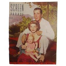 Screen Parade Magazine - April 1950 - New Zealand