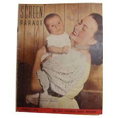 Screen Parade Magazine - January 1950 - New Zealand