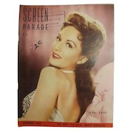 Screen Parade Magazine - October 1950 - New Zealand