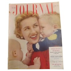 Ladies Home Journal Magazine - September 1953 USA